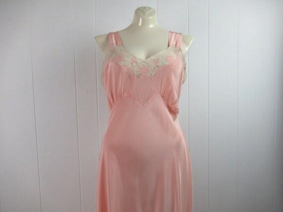 Vintage dressing gown, 1930s lingerie, 1930s dress