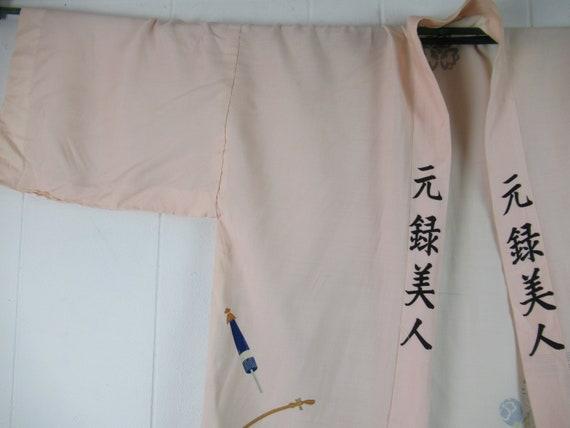 Vintage robe, kimono robe, silk robe, Asian robe,… - image 2