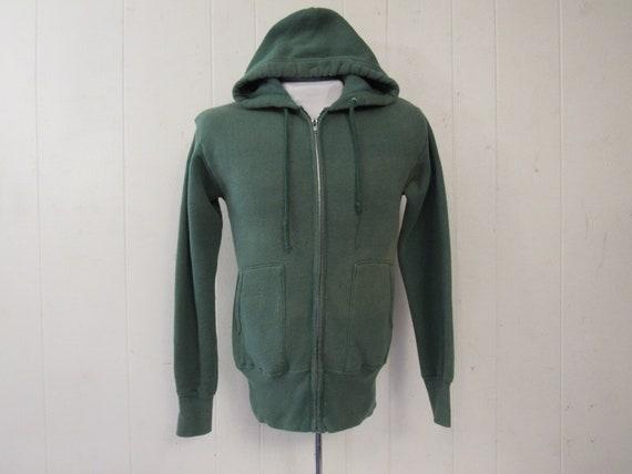 Vintage sweatshirt, vintage hoodie, 1950s sweatshi