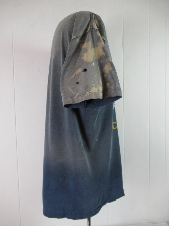 Vintage t shirt, painter's t shirt, distressed t … - image 6