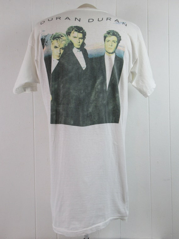Vintage t shirt, Duran Duran t shirt, 1980s t shi… - image 4