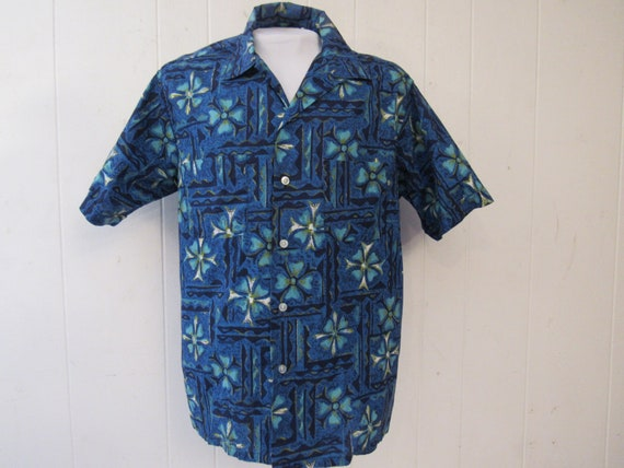 Vintage shirt, Hawaiian shirt, 1960s Hawaiian shir
