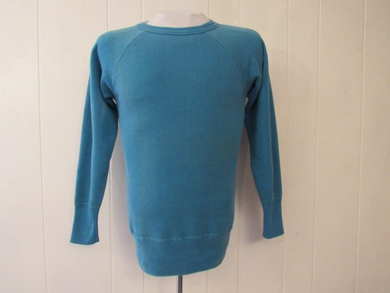 Vintage sweatshirt, 1950s sweatshirt, plain sweats