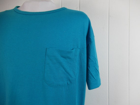 Vintage t shirt, pocket t shirt, plain t shirt, 19