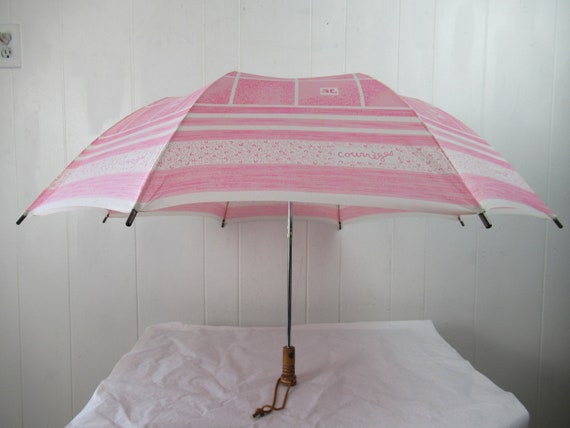 Vintage umbrella, Courrege umbrella, 1960s umbrell