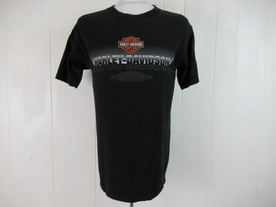 Vintage t shirt, Harley t shirt, Harley Davidson,