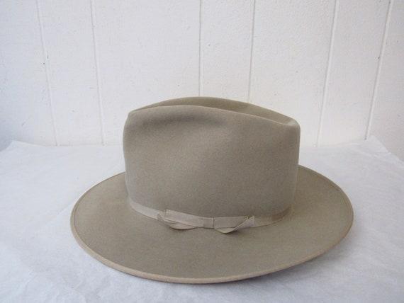 Vintage hat, Fedora, vintage Fedora, open road, Re