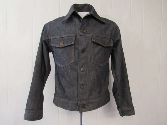 Vintage jacket, denim jacket, 1960s jacket, trucke