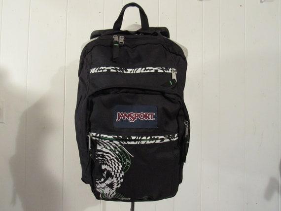 Vintage backpack, Jansport backpack, 1980s 90s bac
