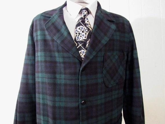 Vintage jacket, Pendleton jacket, plaid jacket, 19