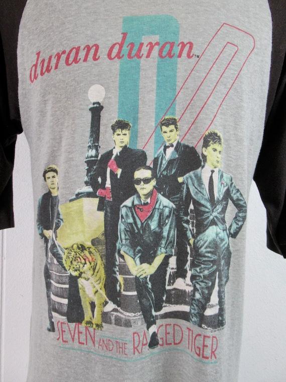 Vintage shirt, Duran Duran, band t shirt, 1980s t