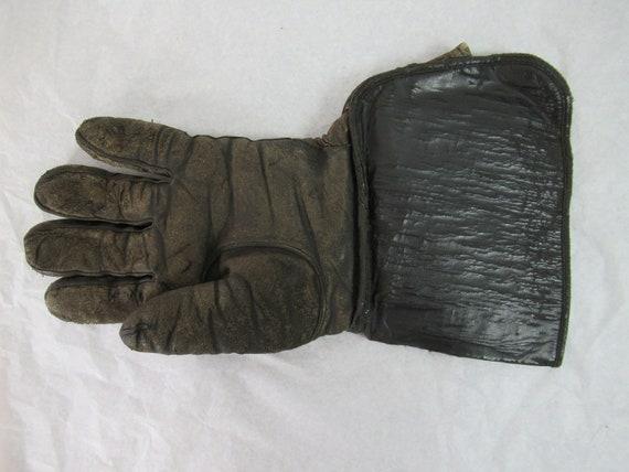 Vintage gloves, motorcycle gloves, 1920s gloves, … - image 4