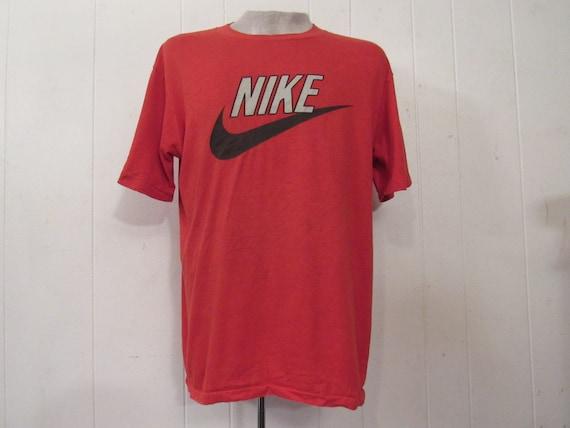 Vintage t-shirt, Nike t shirt, 1980s Nike t shirt,