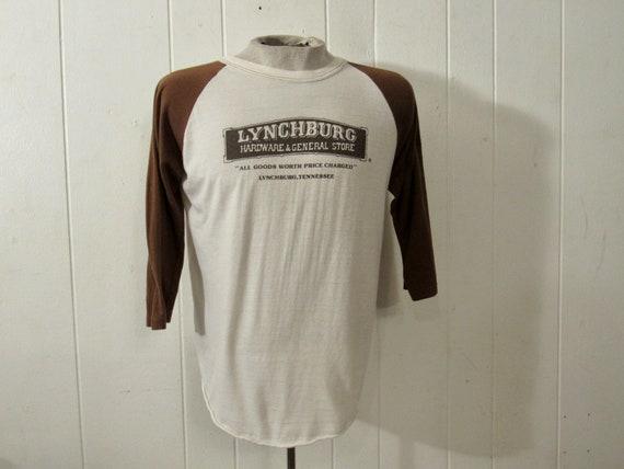 Vintage t shirt, 1970s t shirt, 1970s jersey, Lync