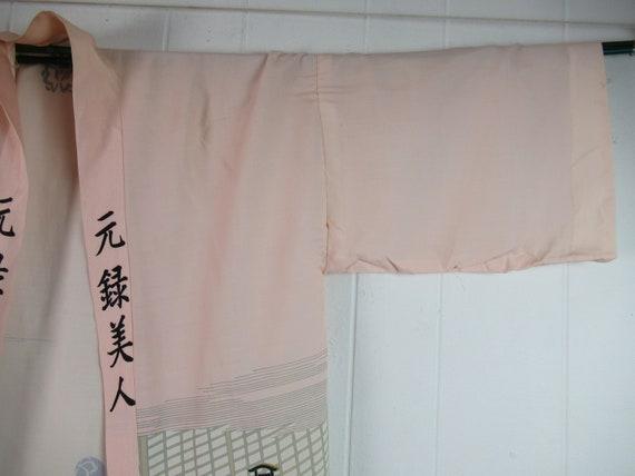 Vintage robe, kimono robe, silk robe, Asian robe,… - image 3
