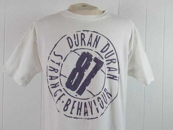 Vintage t shirt, Duran Duran t shirt, 1980s t shir
