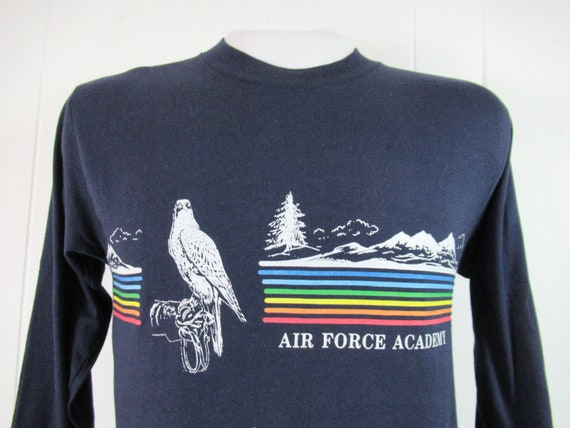 Vintage t shirt, Air Force Academy t shirt, 1980s