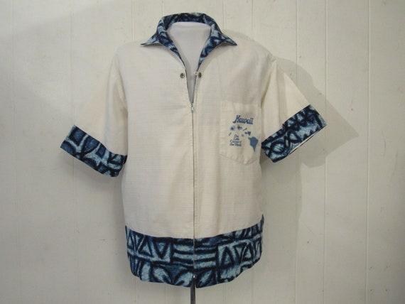 Vintage shirt, Hawaiian shirt, beach shirt, 1950s