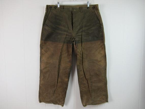 Vintage pants, Filson pants, vintage Filson, tin c