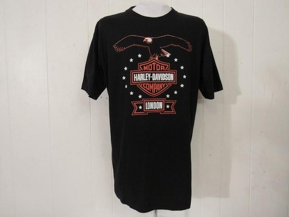 Vintage t shirt, Harley Davidson t shirt, Motorcyc