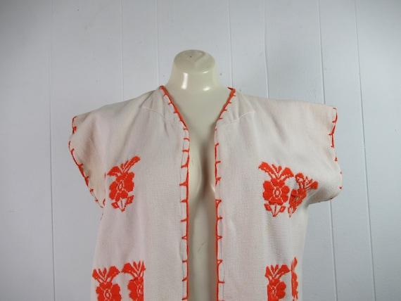 Vintage vest, ethnic vest, cotton vest, bohemian … - image 2