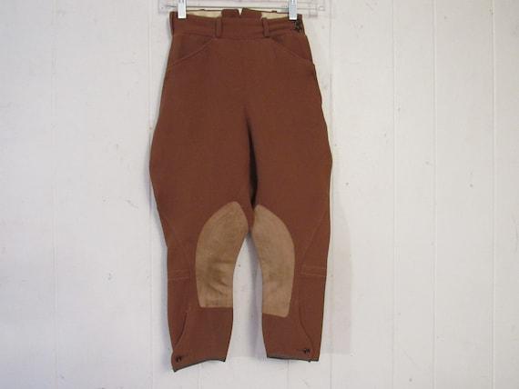 Vintage jodhpurs, vintage riding pants, vintage pa