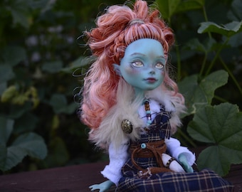 OOAK Monster High Lorna McNessie Doll