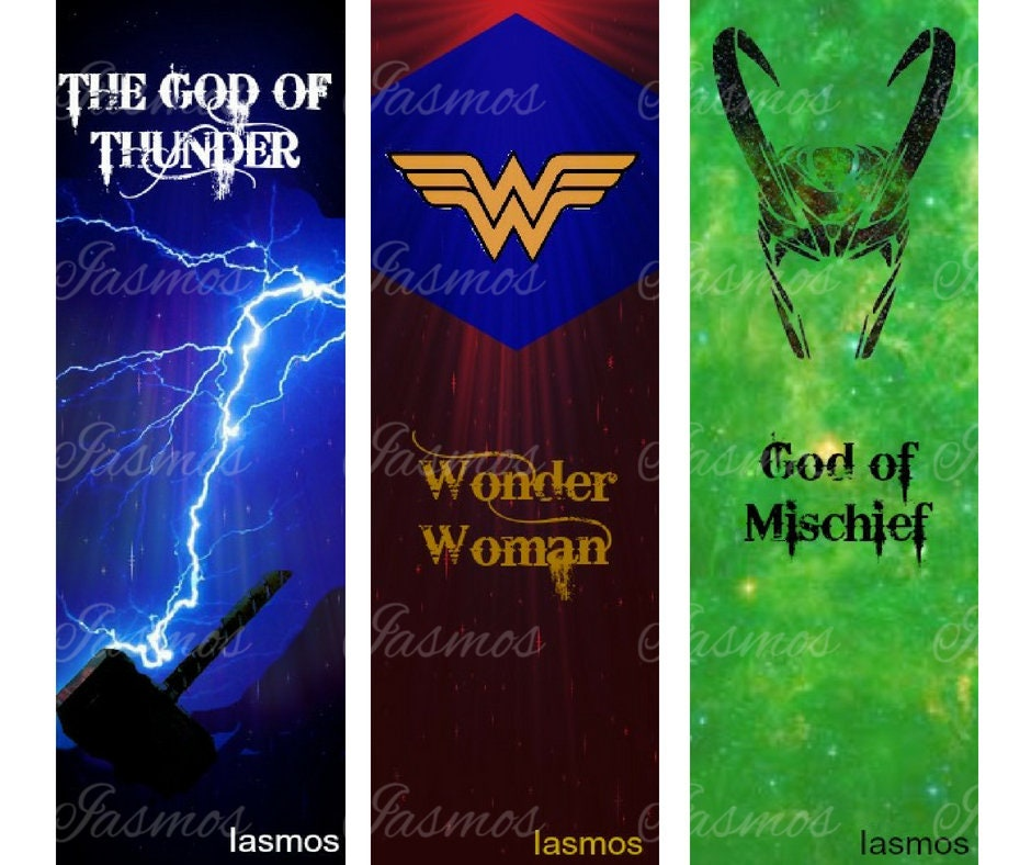 Heroes inspired Bookmarks