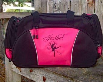 Personalized duffel bag, kids sports bag, dance team bag, soccer bag, gymnastics  bag, sports bag, gym bag, workout bag, custom duffel bag bf4e71e94e