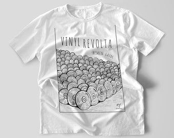 Vinyl Revolta T-shirt