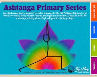 Ashtanga Primary Series Flash Cards Yoga Interactive EBook