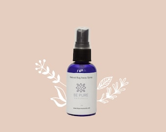 Natural Bug Spray with essential oils