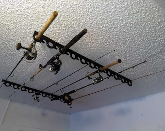 Rod And Reel Rack Etsy