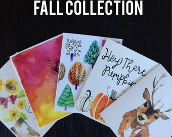 Fall Collection Cards