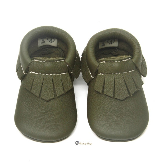 Baby Moccasins Leather Baby Moccasins