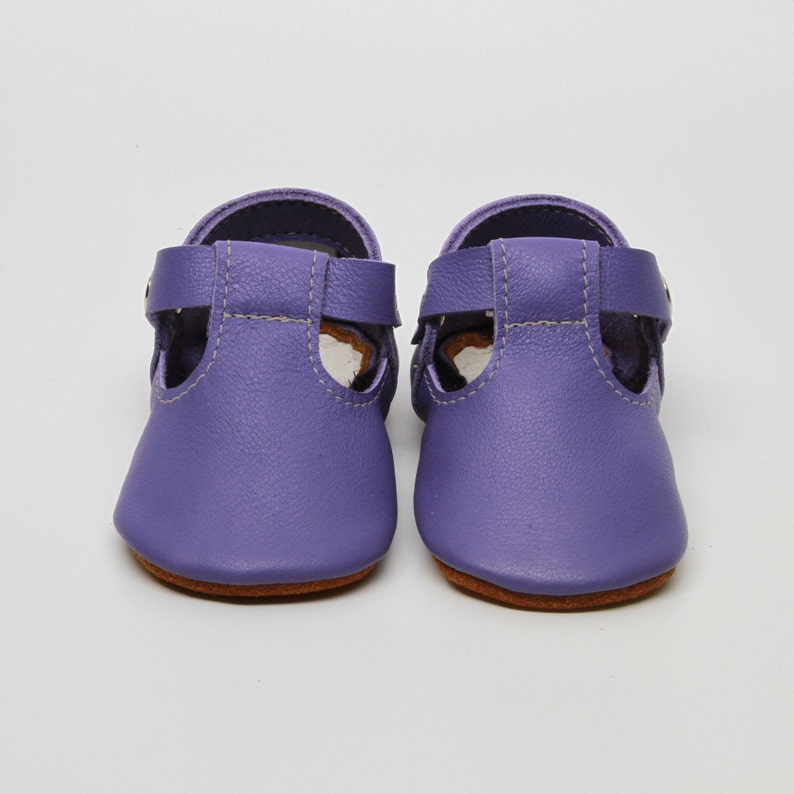 95a5ff2f7f4a0 Purple Leather Baby Moccasins Baby Girl Moccasins Suede Bottom Baby Girl  Shoes Princess Shoes Toast Suede