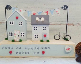 Wooden house decoration tiny house