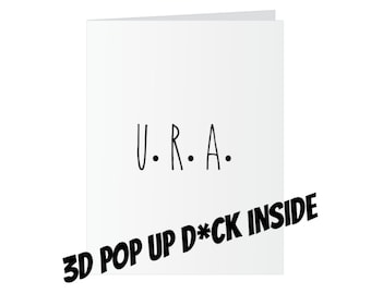 All Occasions Popup Dick Card - You Are A...