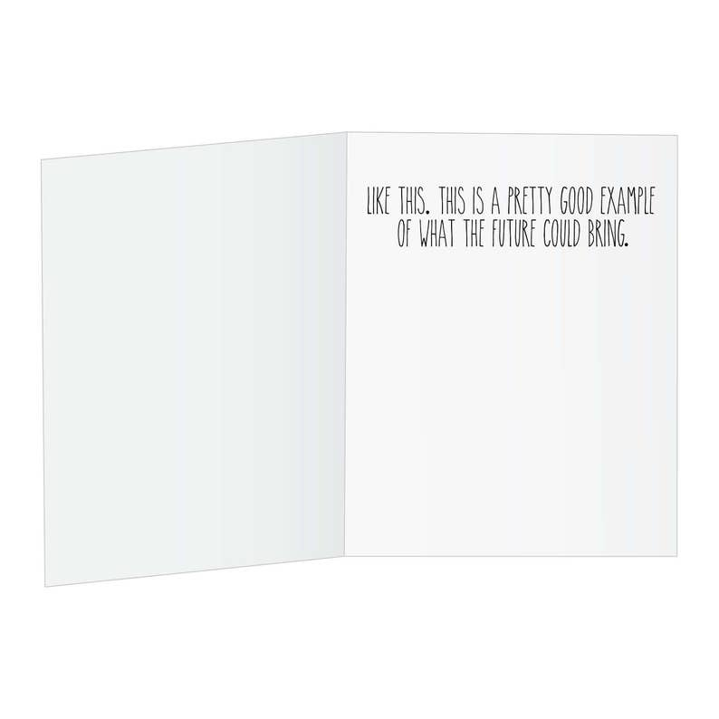 For Husband Funny Cards Stop Funny Greeting Card For Best Friend For Him Prank Glitter Bomb Card