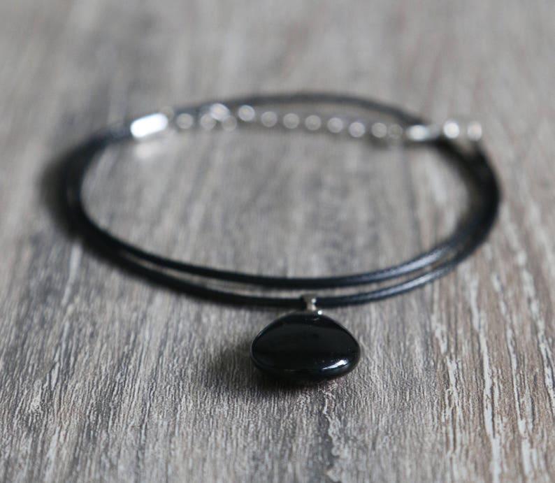 necklace drop-shaped mandala