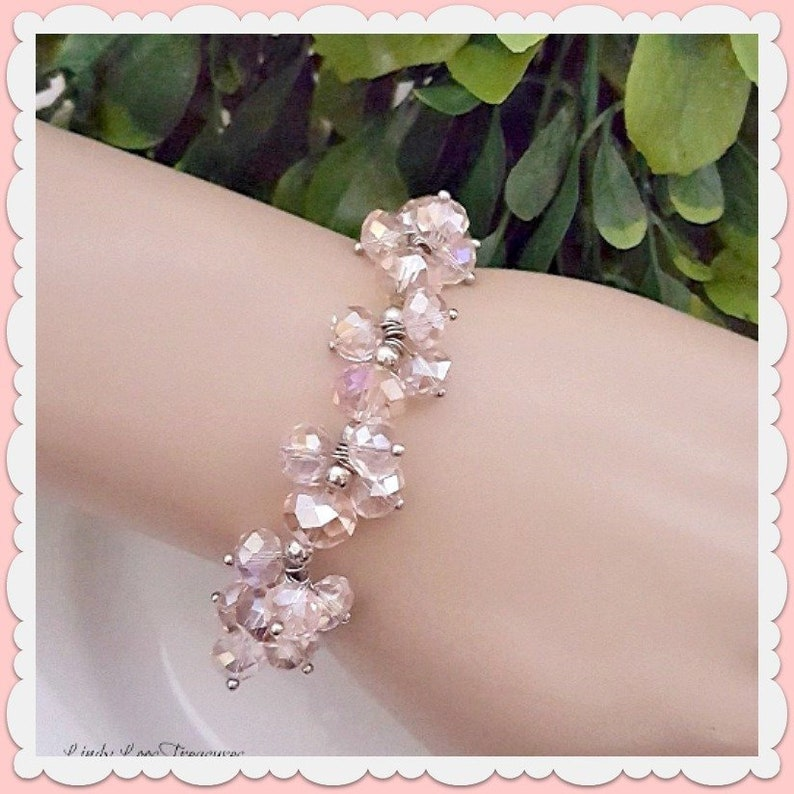 Gorgeous Wedding Bridal 2 Stranded Stretch Bracelet With Rhinestone Rondelles Bringing More Convenience To The People In Their Daily Life Engagement & Wedding