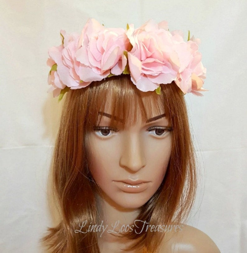 Apparel Accessories Strong-Willed Multi Color Crown Rustic Circlet Woodland Halo Bridal Headpiece Wreath Flower Crown Simple Wedding Hair Accessories