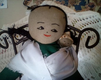 Hand Loomed Doll From Peru