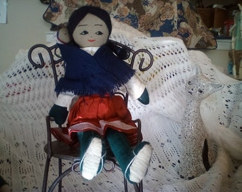 Doll Hand Loomed from PERU
