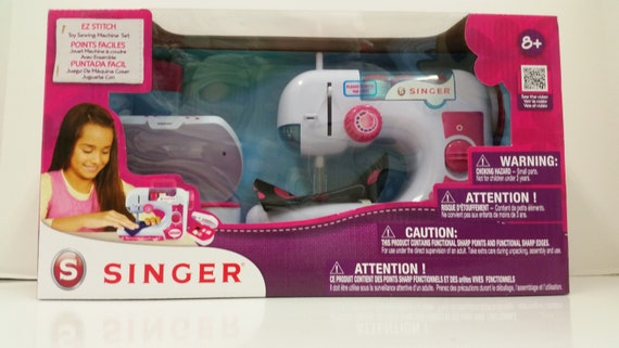 Singer EZ Stitch Toy Sewing Machine For Ages 40 Etsy Extraordinary Singer Ez Stitch Toy Sewing Machine