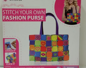 """i-Studio Stitch Your Own """"Fashion Purse"""" for ages 6+"""