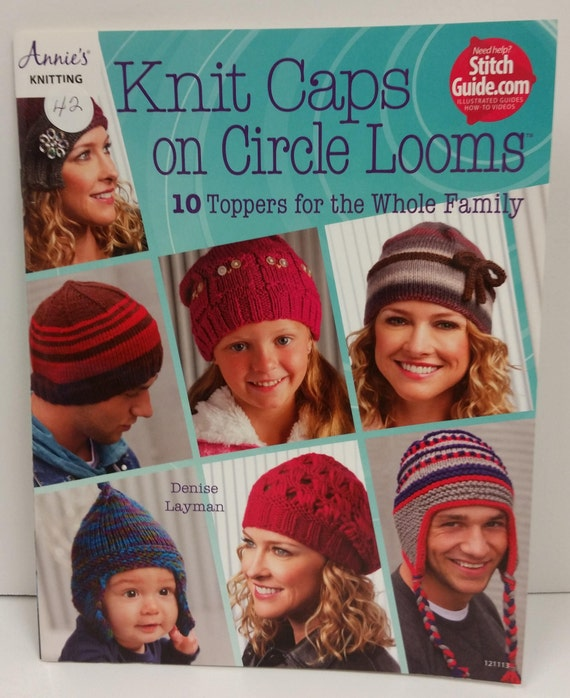 Knit Caps On Circle Looms 10 Toppers For The Whole Family By Etsy