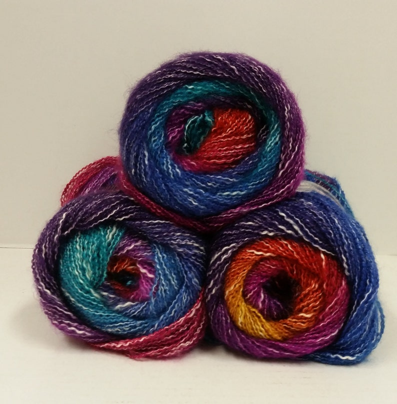Sale Lot of 1Skein New Knitting Yarn Chunky  Colorful Hand Wool Wrap Scarves 34