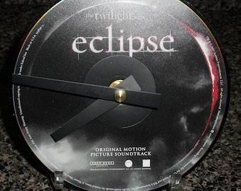 Twilight Eclipse CD Clock