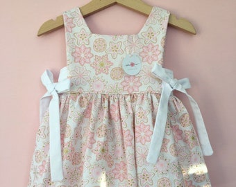9b412dbfeae5 dresses, pink dress, sparkle dress, vintage dress, girls dresses, snowflakes,  gifts for girls, Christmas dresses, Christmas, gifts, pink